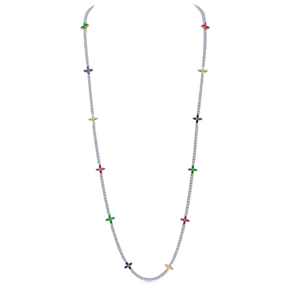 Flo Necklace (Multi-Colour)