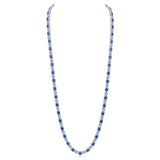 Genevieve Necklace (Sapphire)