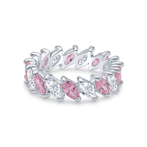 Demeter Eternity Ring (Pink)