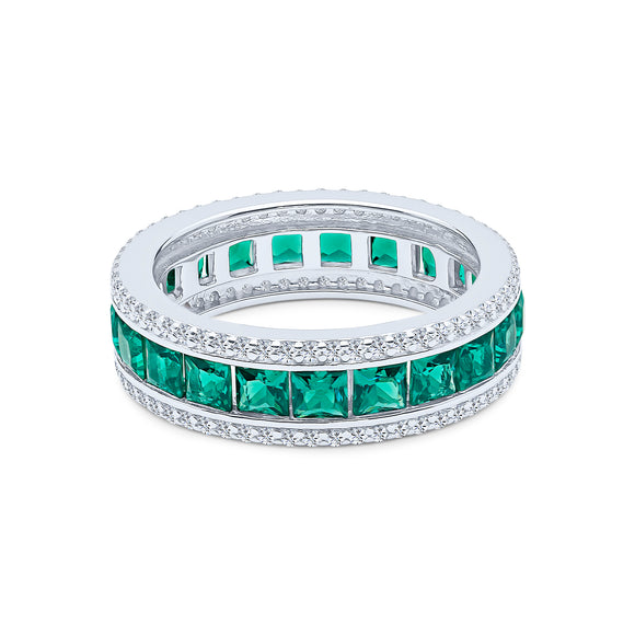 Anna-lisa Eternity Ring (Emerald)