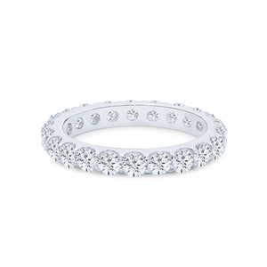 Harmonia Eternity Ring (All White)