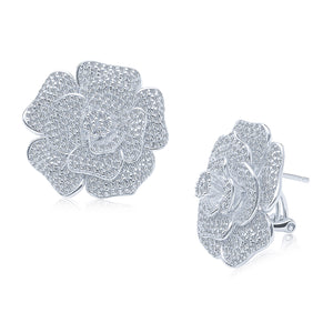Rose Earrings (Large)