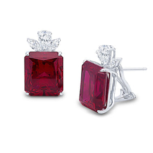 Maisie Earrings (Ruby)