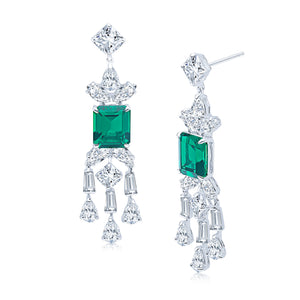 Maxine Earrings (Emerald)