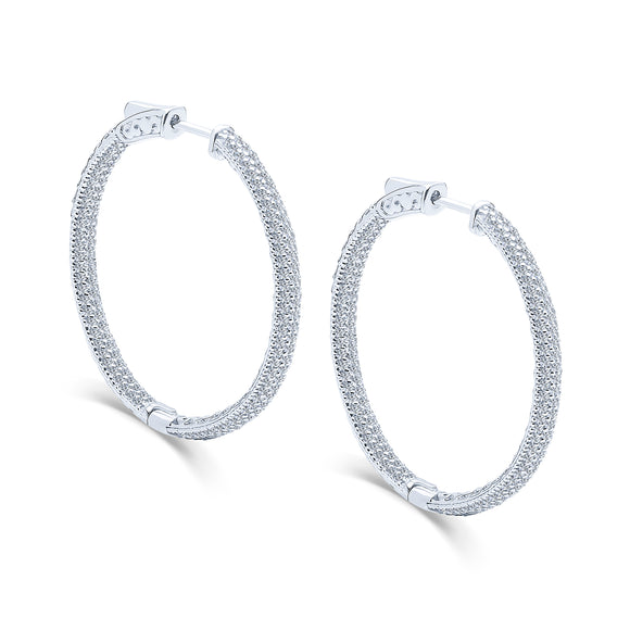 Kalia Hoop Earrings (Medium)