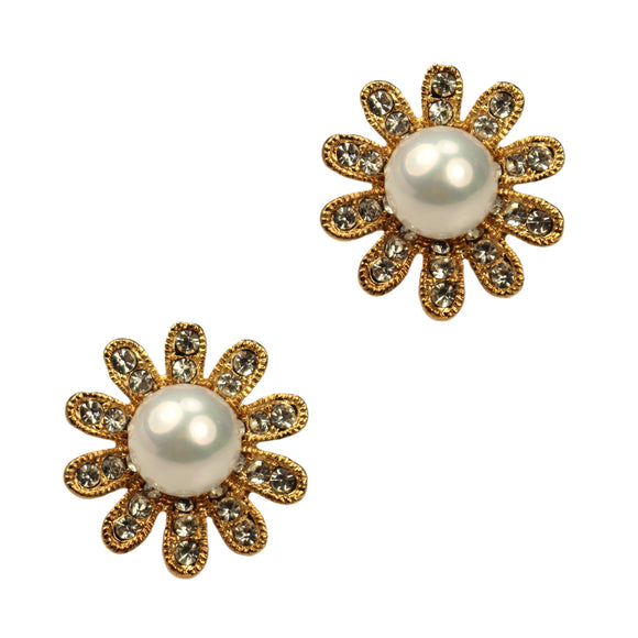 Abby Clip Earrings (Gold)