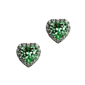 Anabelle Earrings (Emerald)