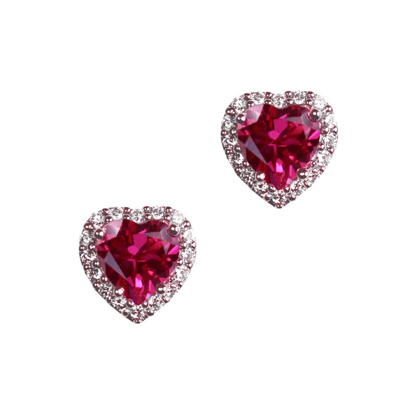 Anabelle Earrings (Ruby)