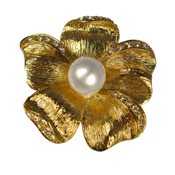 Anemone Brooch (Gold)