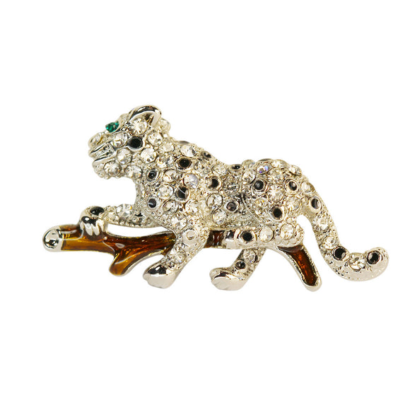 Small Leopard Pin