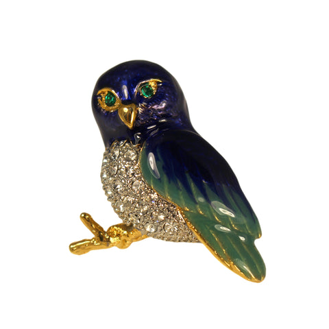 Bluebird Brooch