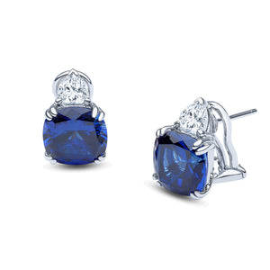 Brooke Earrings (Sapphire)