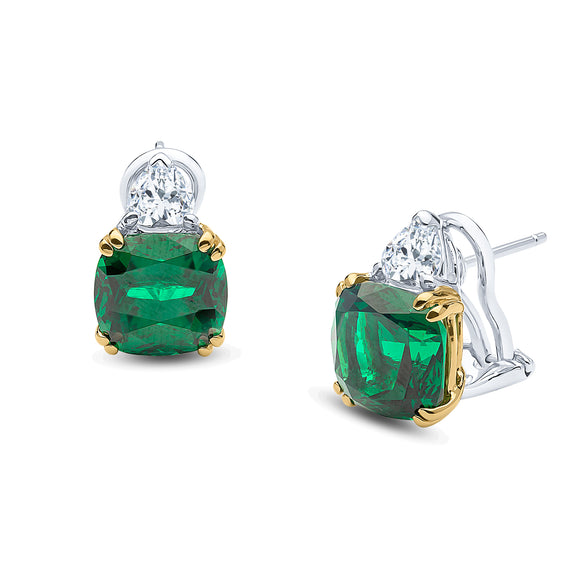 Brooke Earrings (Emerald)