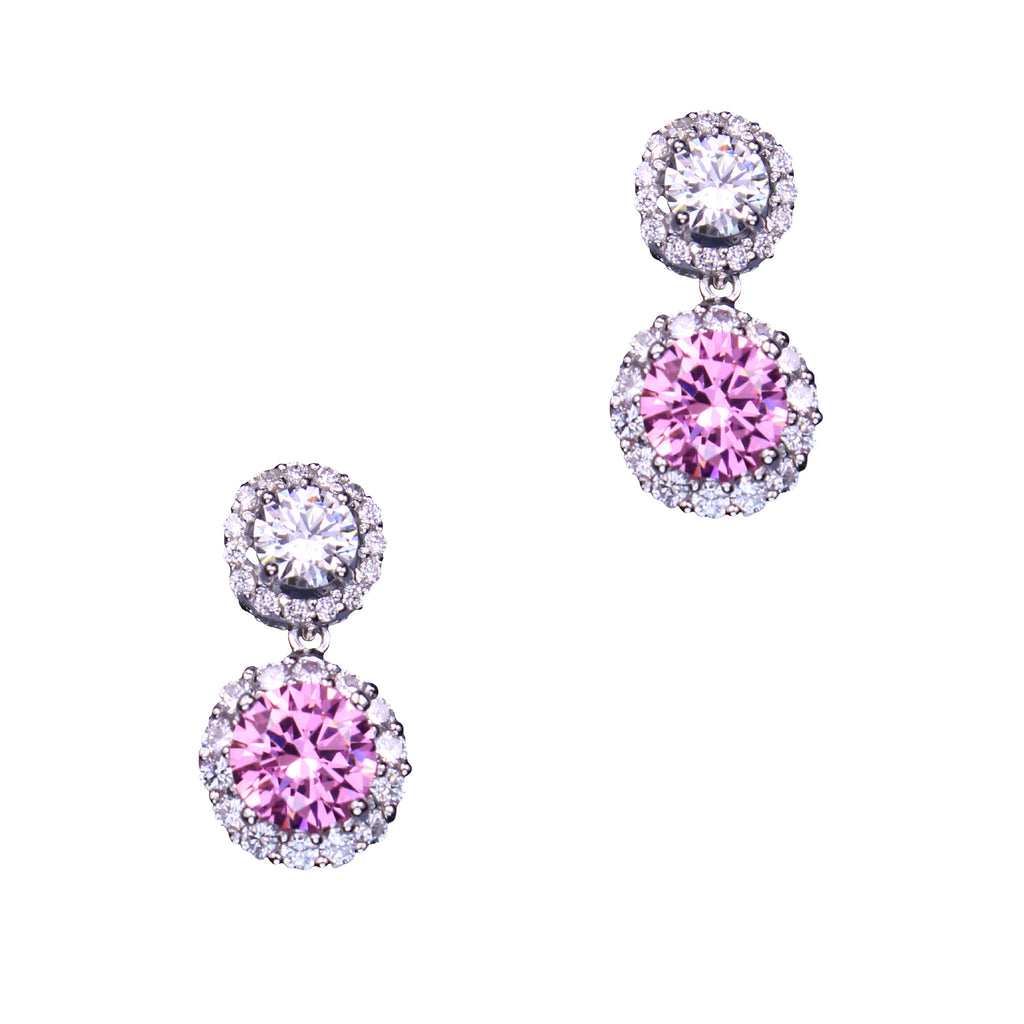 Calliope Earrings (Pink)
