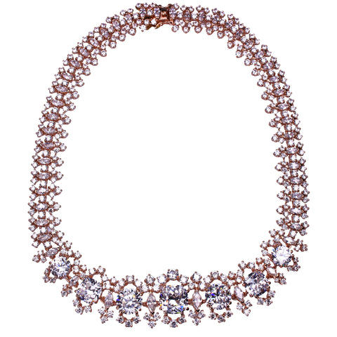 Carlotta Necklace (Rose)