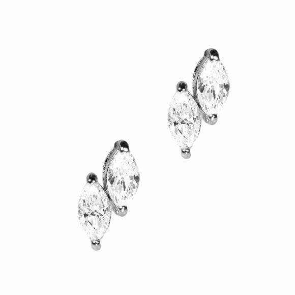 Demeter Earrings (Rhodium)