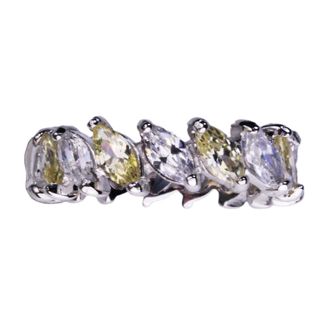 Demeter Eternity Ring (Canary)