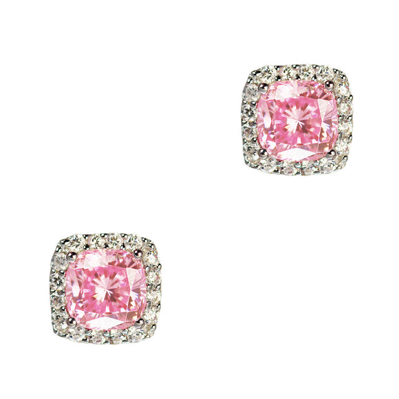 Stacy Earrings (Pink)