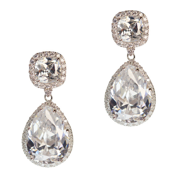 Daniella Earrings (White)