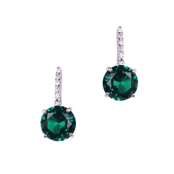 Eurydice Earrings (Emerald)