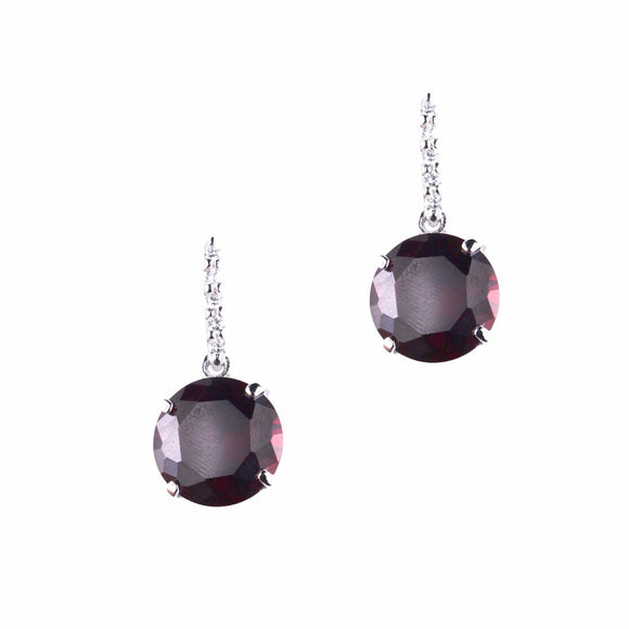 Eurydice Earrings (Ruby)
