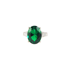 FRANCESCA RING (Emerald)