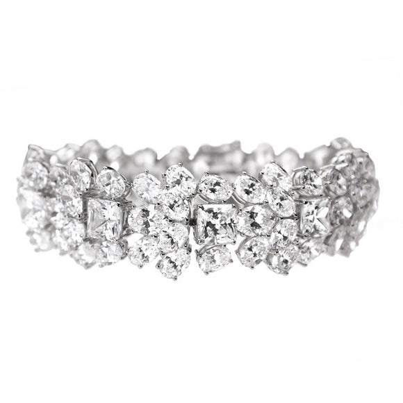 Grace Bracelet (Rhodium)