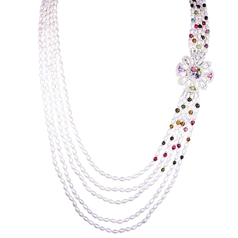 Victoria Pearl Necklace