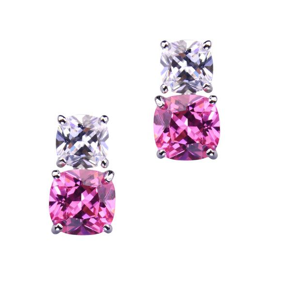Havana Earrings (Pink)