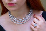 Jessica Necklace (Rhodium)
