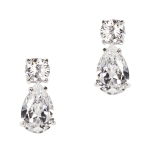 June Earrings (White)