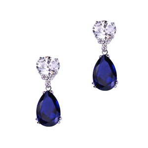 Lorelei Earrings (Sapphire)