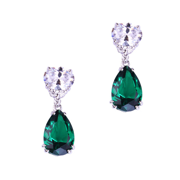Lorelei Earrings (Emerald)