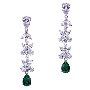 Lucinda Earrings (Emerald)