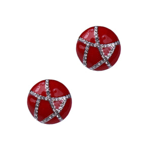 Luna Clip Earrings (rhodium)