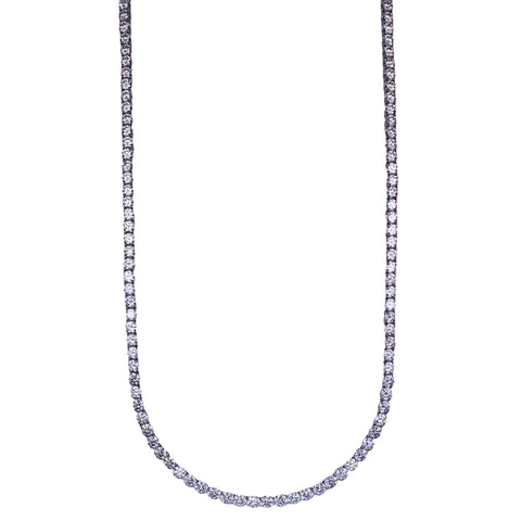 Marisol Necklace (Rhodium)
