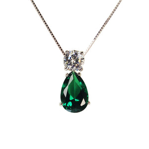 June Pendant (Emerald)