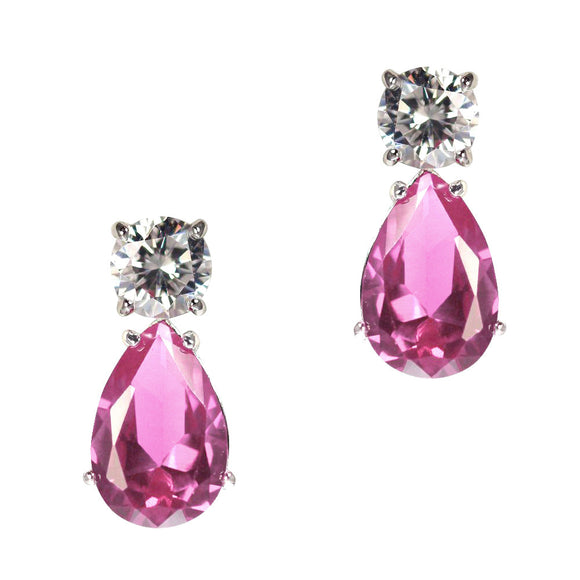 June Earrings (Pink)