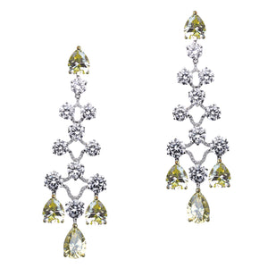 Priscilla Earrings (Canary)