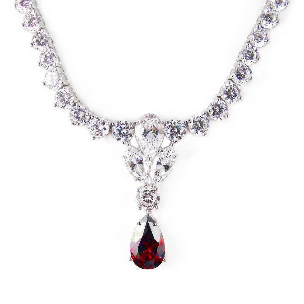 REBECCA NECKLACE (Ruby)