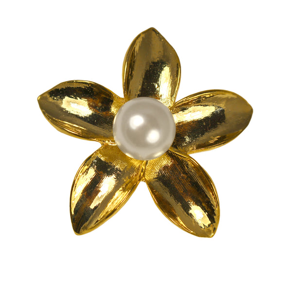 Stephanotis Brooch (Gold)