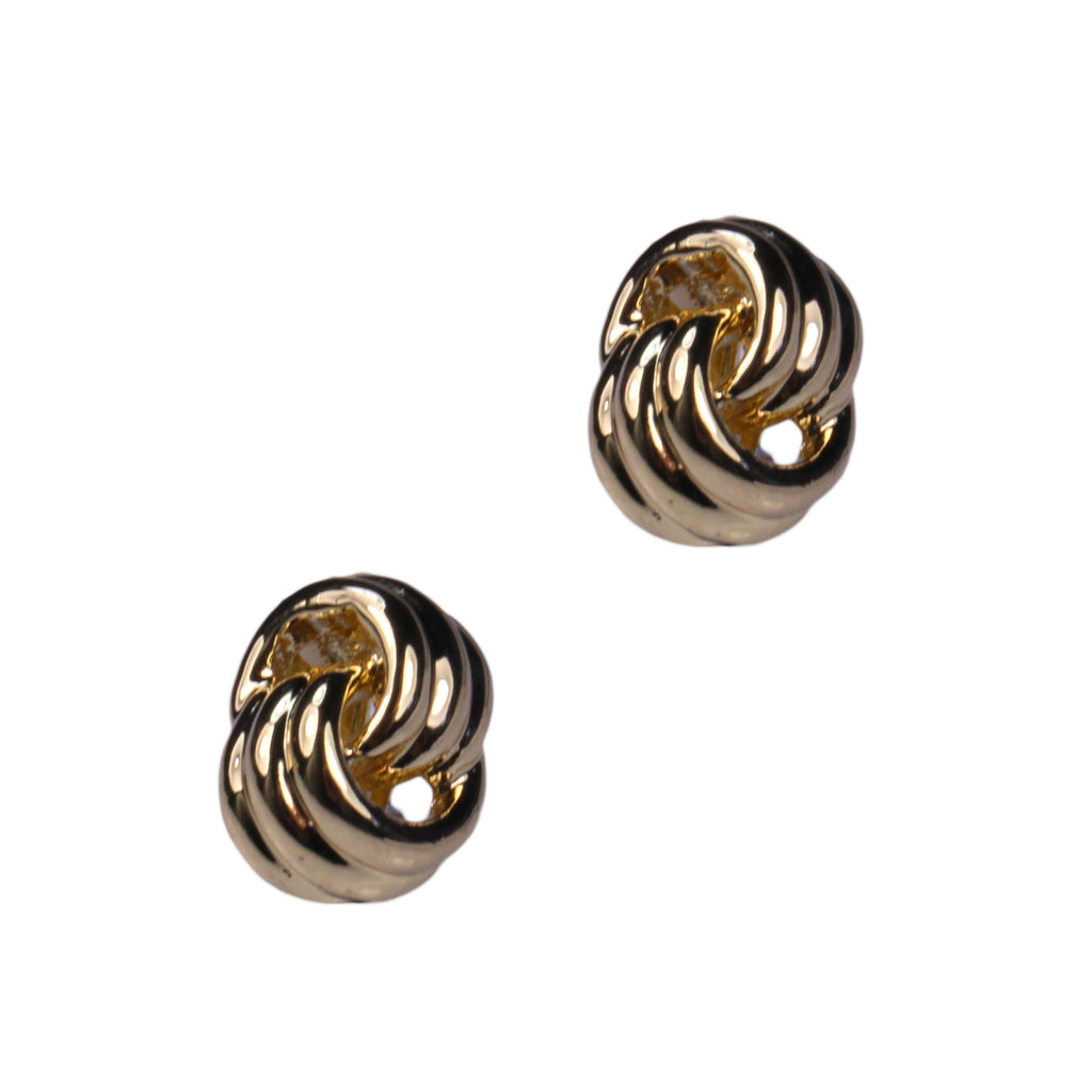 Alana Clip Earrings (Gold)