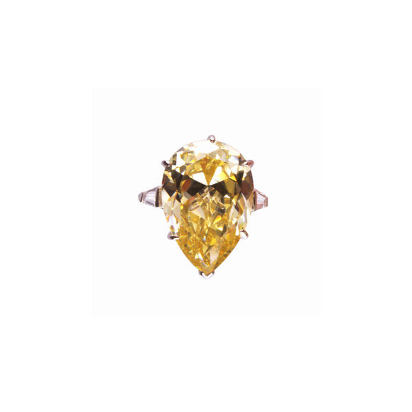 Geneva Ring (Canary/Rhodium)