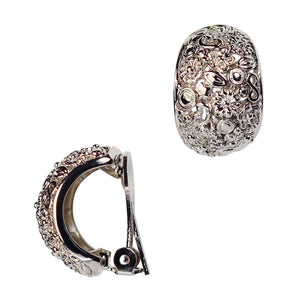 Clip on Earrings in Silver - Harley