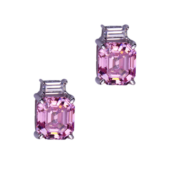 Fiorella Earrings (Pink)