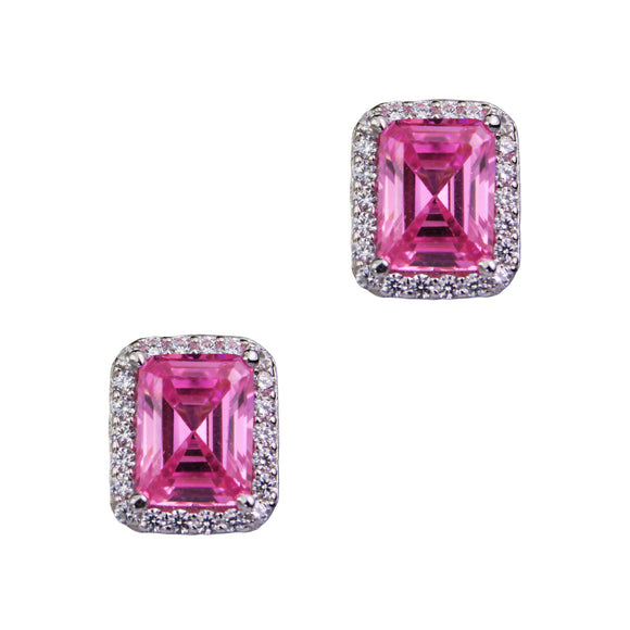Ciara Earrings (Pink)