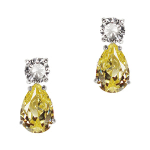June Earrings (Canary)