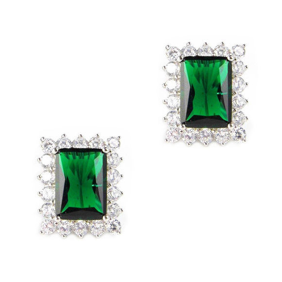 KEIRA EARRINGS (Emerald)