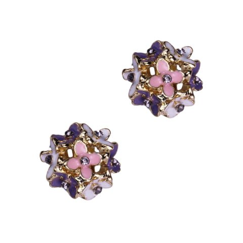 Paula Clip Earrings (Gold)