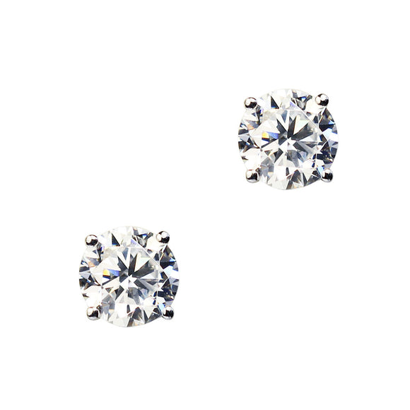 VESPER EARRINGS (Rhodium)